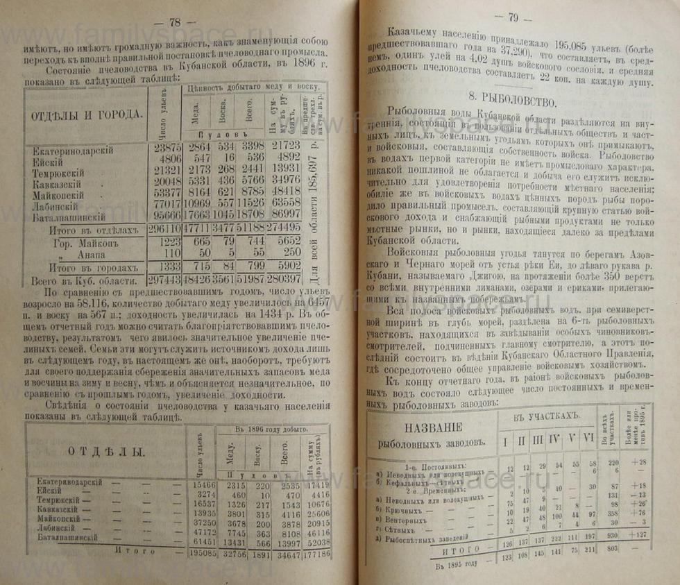 Поиск по фамилии - Кубанский календарь на 1898 год, страница 2078