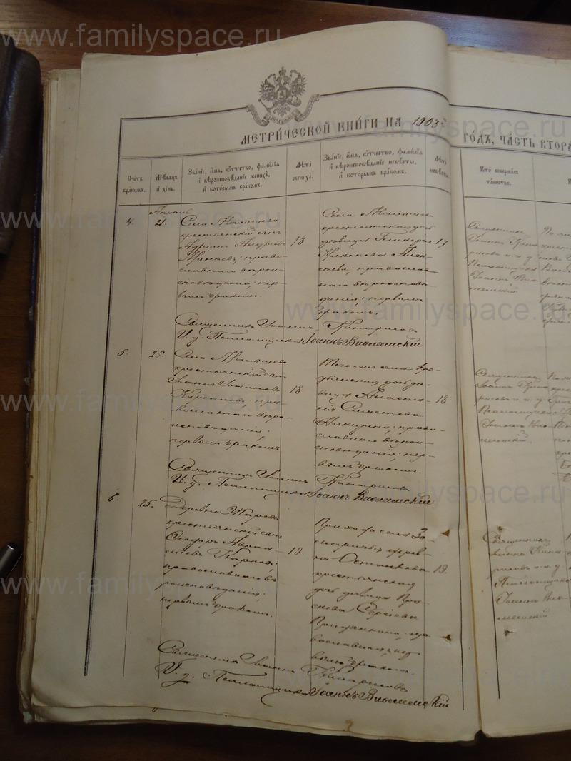 Церковные метрические книги каргопольского уезда